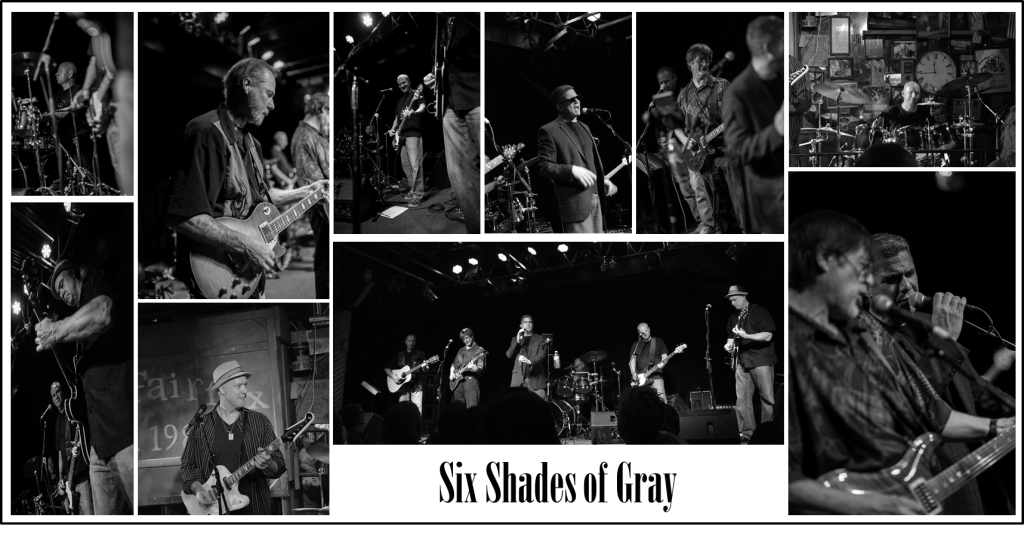 Band Picture Grey Scale Name